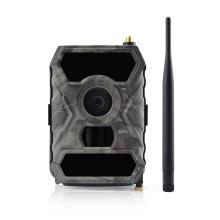 Mais novo 3G trail camera com controle remoto app celular câmera de caça lente larga 3g