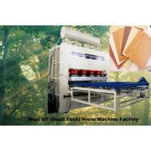 Automatico cargador y descargador prensa caliente + PLC / cilindros superiores