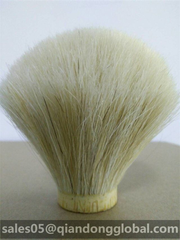 Big Size White Horse Hair Brush Knot