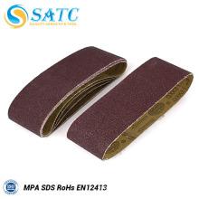 Bande de sable enduite abrasive d'oxyde d'aluminium de Multi-Purpose pour la pierre