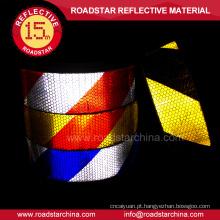 Fábrica preço de adesivo clara fita reflexiva para caminhão