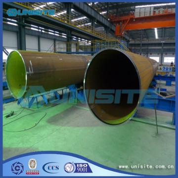 Tubo de acero redondo longitudinal soldado