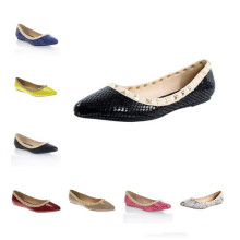 Zapatos ocasionales planos de la manera de la manera del estallido (s05)
