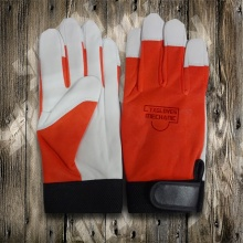 Work Gloves-Protected Glove-Sheep Leather Glove-Labor Glove-Working Leather Glove