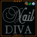 Nail Diva wholesale heat press rhinestone transfers