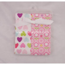 Newborn Flannel Receiving Blanket 2-Pack
