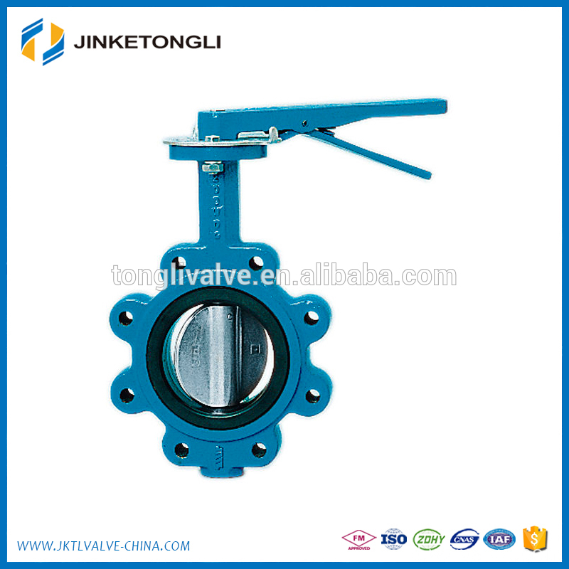 stainless steel gas regulator butterfly valve class 150 JKTL BT062L