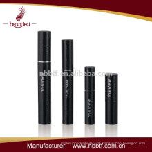 Schwarze benutzerdefinierte Make-up Wimperntusche Fall Aluminium Wimperntusche Rohr