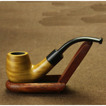 Fashion Popular Stylish Durable Wooden Tobacco Smoking Pipe