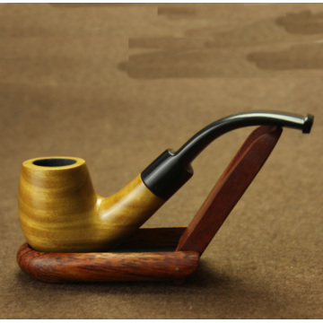 Fashion Popular Stylish Durable Wooden Tobacco Smoking Pipe