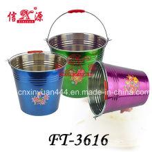 Stainless Steel Water Flower Bucket (FT-3616)