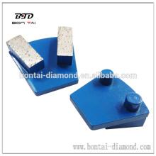 Abrasive pad for werkmaster grinder