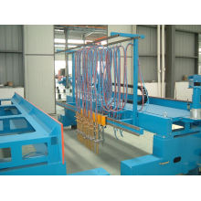 Automatic Multi Head Straight Line Cnc Steel Cutting Machine For Aluminum / Copper With Oem