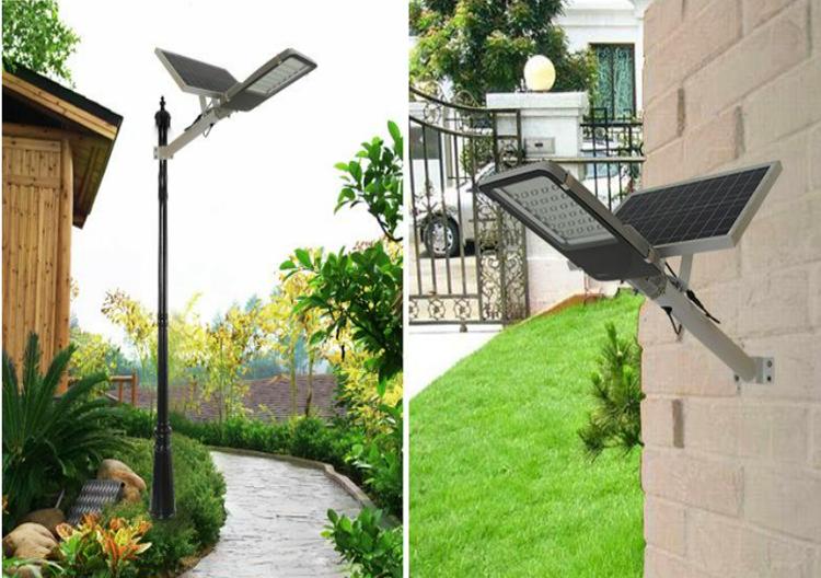 Solar integrated street light6