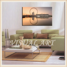 London Eye Souvenir Picture Printed on Canvas Arts