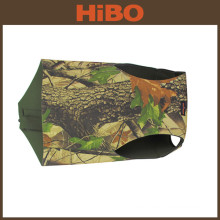 Tourbon Zippered closure neoprene camo dog vest for hunting dog