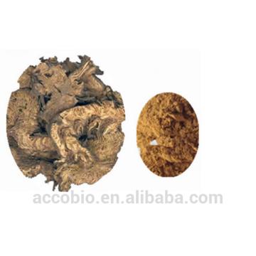 Hohe Qualität 100% Natural Black Cohosh Extrakt Pulver in BulkTriteren Glykosiden 5%