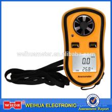 Anémomètre à main numérique DA8908 avec température