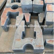 Fabricação de alta qualidade MS placa de corte