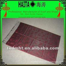 Jacquard silk scarf , Hijab HTC213-3