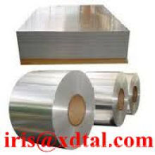 DC or CC, A1050/A1100/A3105/A3003/3104/A5052/A5083/A8011 Aluminum coil or plate for trailer, air conditioner, coller