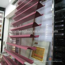 Tejido de protección solar de estilo elegante para persianas enrollables