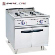 Una buena freidora de grasa profunda Calentamiento rápido Freidora eléctrica Equipo de cocina
