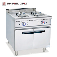 Uma boa fritadeira de gordura profunda Fast Heating Electrical Deep Fryer Equipamento de cozinha