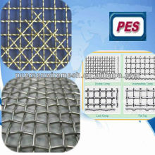 0.7mm galvanizado malla de alambre cuadrada / malla de alambre tejido