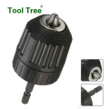 10mm 13mm Keyless Hand tightening drill chuck