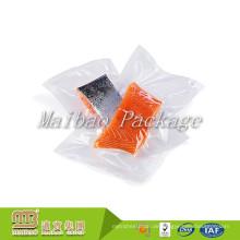 Großhandel Billig FDA Premium Transparent Kunststoff Nylon / Pe Gefrorene Fisch Fleisch Verpackung Benutzerdefinierte Gedruckt Lebensmittel Vakuumbeutel