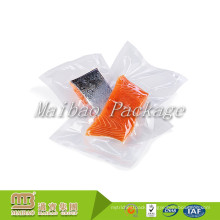 Wholesale Cheap FDA Premium Transparent Plastic Nylon/Pe Frozen Fish Meat Packaging Custom Printed Food Vacuum Bag