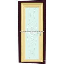 Puerta de baño de vidrio esmerilado