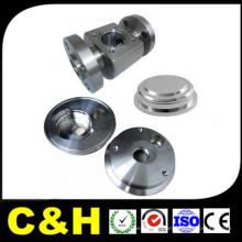 China Precisão de aço inoxidável 4 eixo CNC usinagem peças de máquinas