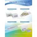 Kits de nettoyage de Fargo CKF-81760 (nettoyage d'IPA d'écouvillon de nettoyage d'IPA de CR80 essuie le rouleau collant d'adhésif de stylo de nettoyage)