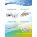 Fargo Cleaning Kits CKF-81760 (CR80 Cleaning IPA swab IPA wipes Cleaning Pen Adhesive Tacky Roller)