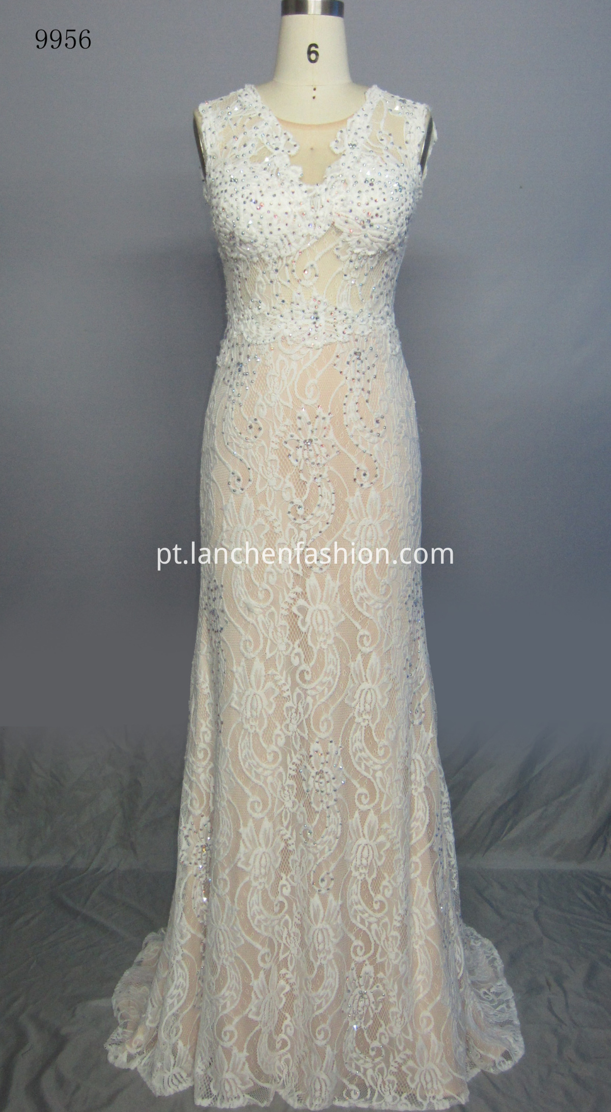 Evening Simple Dress IVORY