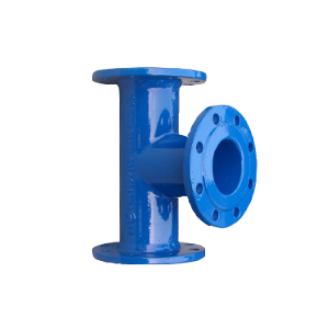 Ductile Iron All Flanged Tee