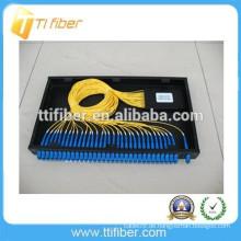1 * 32 PLC SC / UPC Faseroptik Plc Splitter Patch Panel