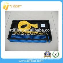 1*32 PLC SC/UPC fiber optic plc splitter patch panel