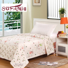 Factory DirectlyLuxury Comfortable printed quilt cheap and fine Summer quilts