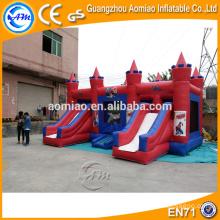 CE certificó al aire libre el castillo hinchable inflable del gorila de salto para los cabritos / los adultos