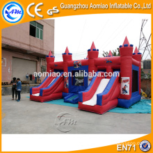 CE certificated outdoor combo inflatable jumping bouncer castle for kids/adults