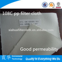 polypropylene /PP micron rated woven ptfe filter cloth