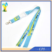 Factory Custom Lanyards with White Buckle