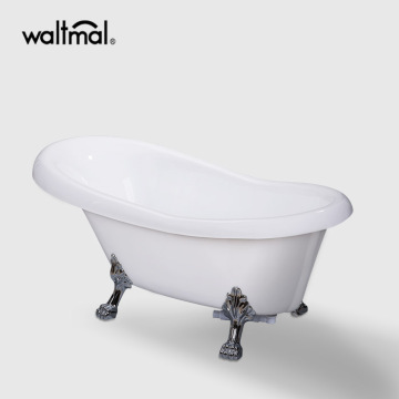 Bathtub Clawfoot akrilik di White