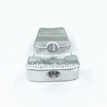 Fresagem CNC para usinagem de pequenas peças sobressalentes de alumínio