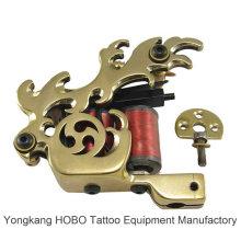 Bobinas de latão profissional máquina de bobinas de tatuagem artesanal