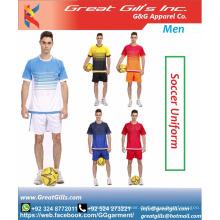 Neueste Fußballuniform Fußballbekleidung