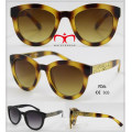 New Coming Fashionable Sunglasses with Metal Decoration (WSP601535)